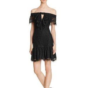 Endless Rose Lace Off Shoulder Cocktail Dress